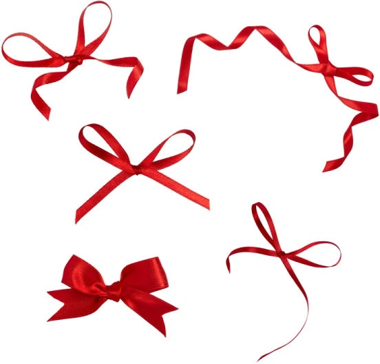 hd pictures of beautiful red ribbon 01