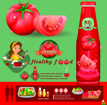healthy food flyer template vector free vector in encapsulated