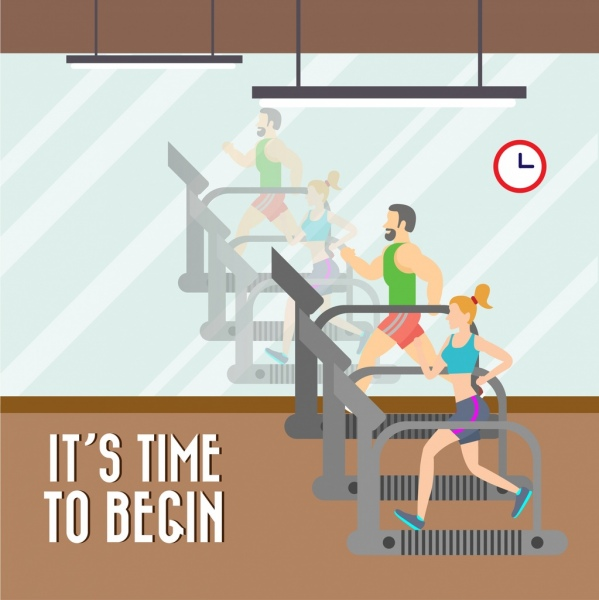 Gym free vector download for commercial