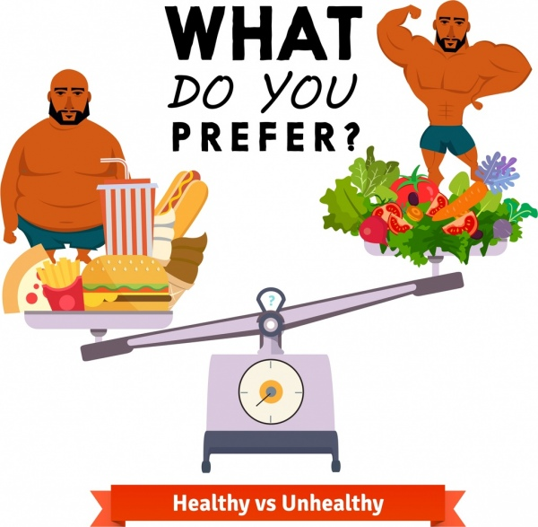 Eating, fat, food, lifestyle, obesity, overweight ... |Unhealthy Lifestyle Icon