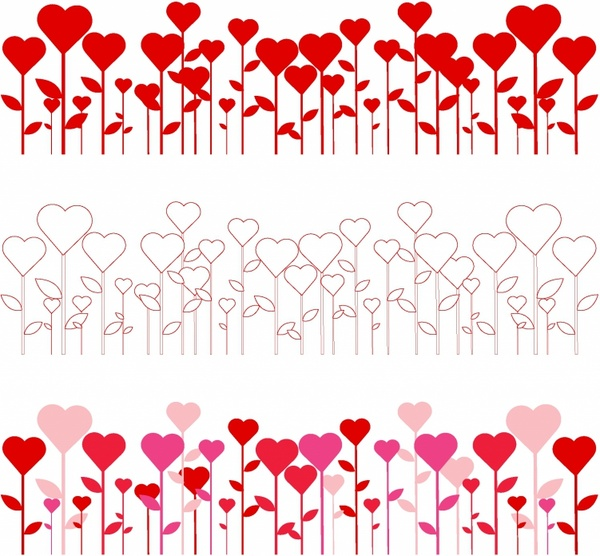 heart borders free vector in adobe illustrator ai ai rh all free download com heart shaped border clip art heart border clip art images