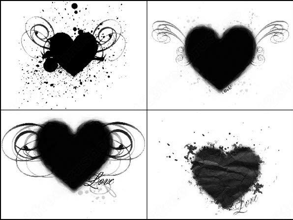 heart brush