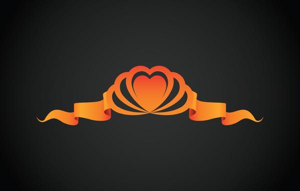 heart ribbon concept