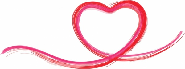 Heart Shape Vector Free Vector Download (13,601 Free