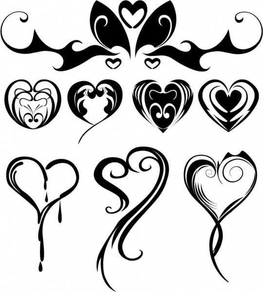 Heart Shaped Tattoos