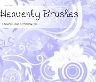 Heavenly Flowers Brushes