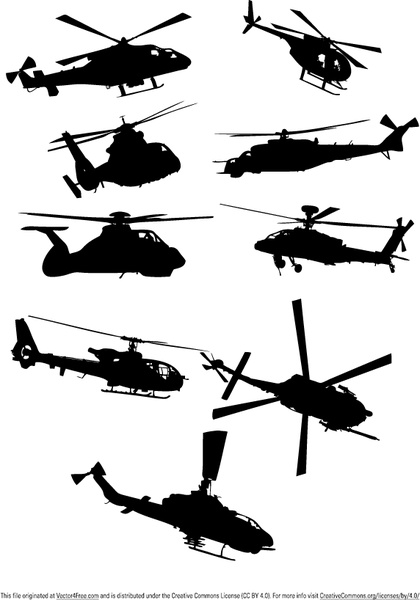 Apache Helicopter Vector Free Vector Download 114 Free