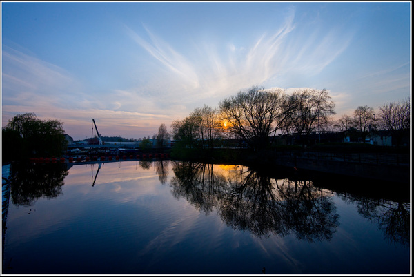 hepworth sunset