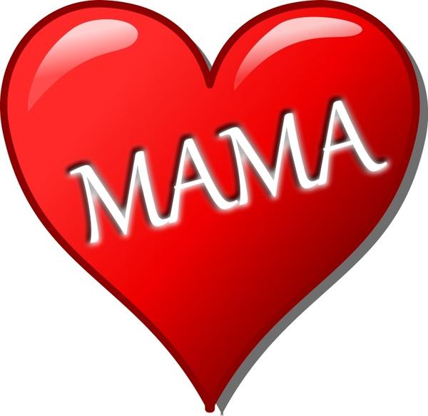 Herz für Muttertag