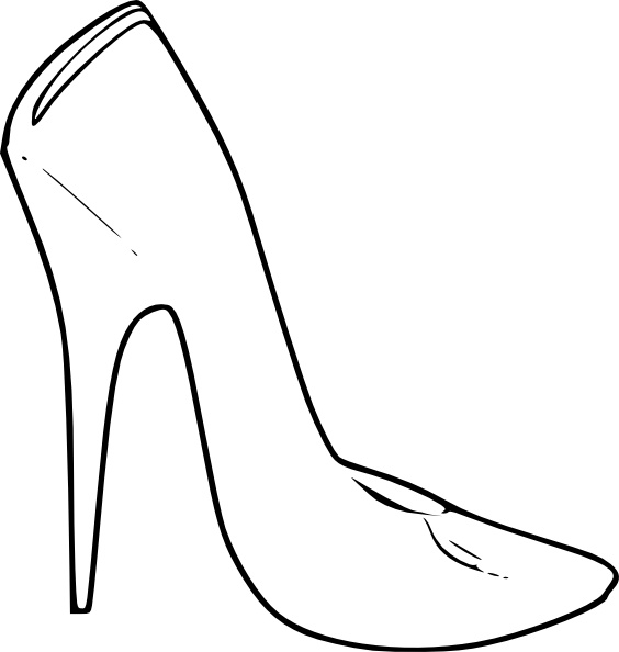 695a784830 High Heel Shoes Women Fashion clip art Free vector in Open office ...