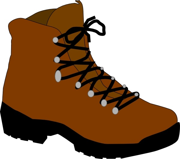 hiking boot clip art free vector in open office drawing svg svg rh all free download com go hiking clipart clipart hiking