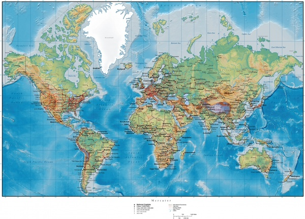 Hilly terrain map of the world vector free vector in adobe hilly terrain map of the world vector free vector 2751mb gumiabroncs Images