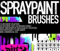 HiRes – PS7 Splatter Brushes