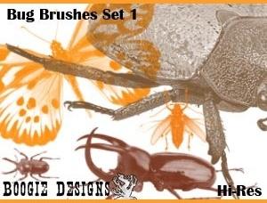 Hi-Res Photoshop Brushes - Bug 1