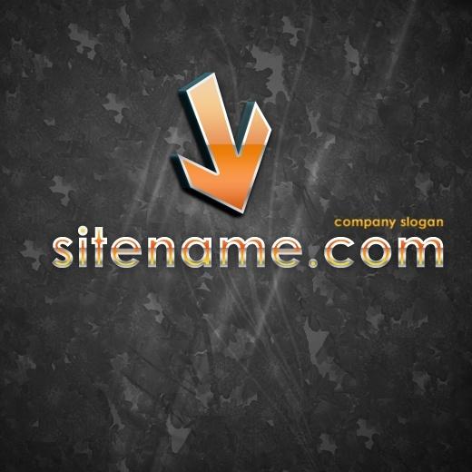 Hi-Tech Logo – Free PSD Logo