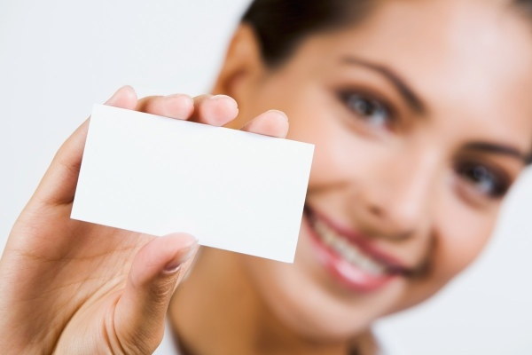 holding a blank business card characters hd picture 3