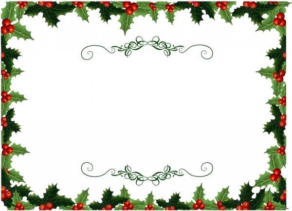Holly Christmas Invite