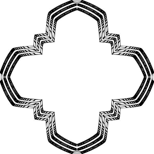 Holy Greek Cross clip art Free vector in Open office drawing
