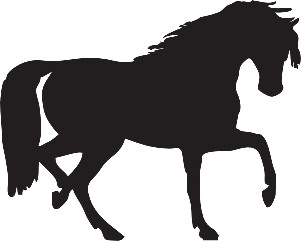 horse silhouette clip art free vector in open office drawing svg rh all free download com horse clip art free download free clipart horse