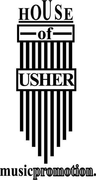 House of usher music promotion Free vector in Encapsulated