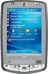HP iPaq hx 2495