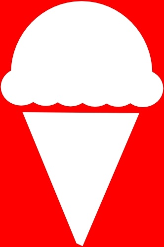 ice cream icon clip art free vector in open office drawing