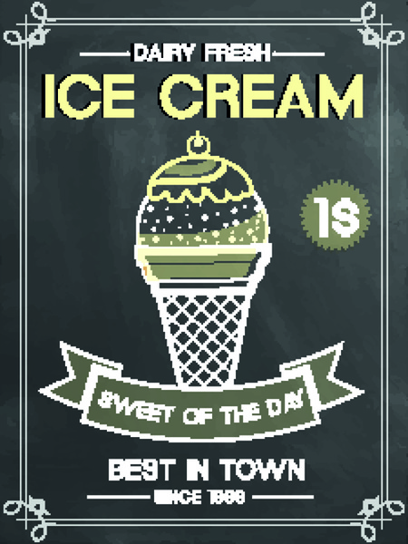 Ice cream poster background free vector download (51,317 ...