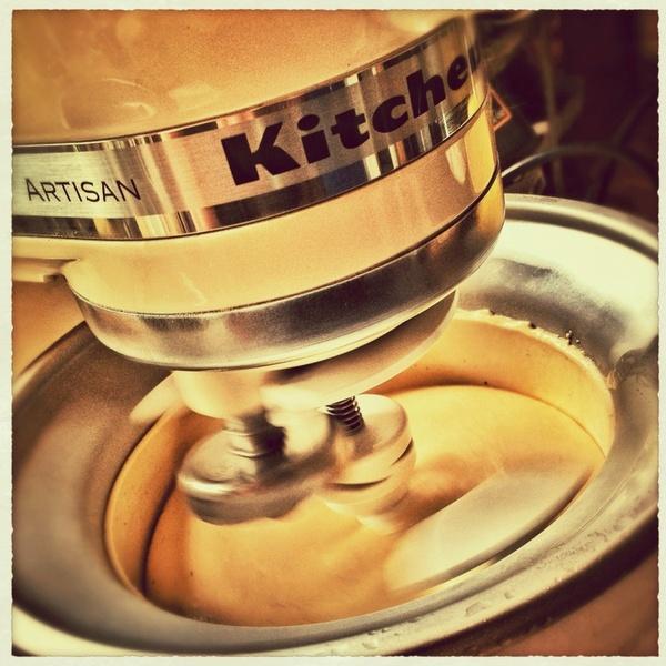 ice production ice cream vanilla