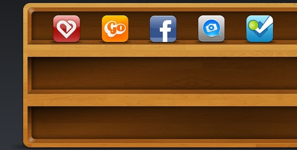 Icon Shelf