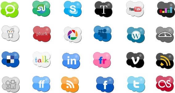 Icons Cloud icons pack