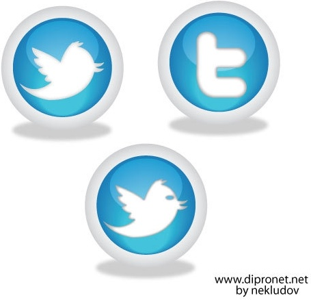 icons twitter vector beta1 free vector in encapsulated postscript