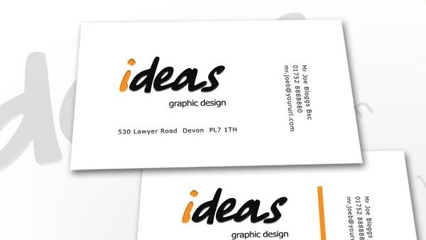 Ideas Business Card