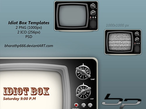 Idiot Box TV Templates