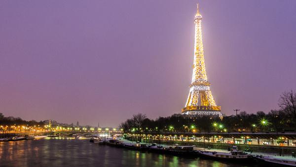 il neige sur paris 20 janvier 2013