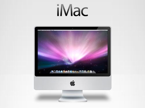 iMac PSD Source file