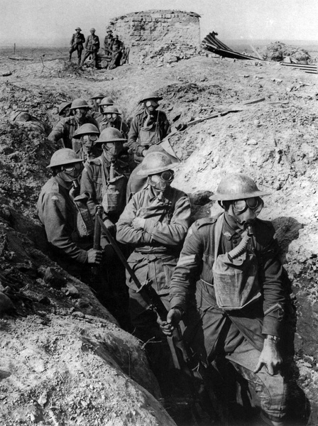 infantry trench ground forces