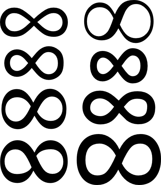 Infinity Symbol Clip Art Free Vector In Open Office Drawing Svg
