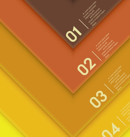 Infographic fashion colors vector