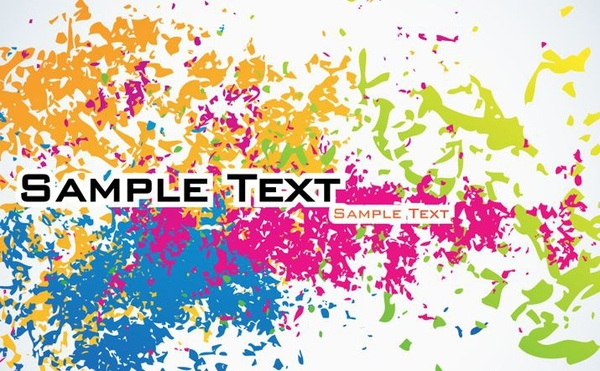 abstract background colorful splashing ink decoration