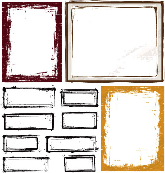 Free Vector Old Style Border Free Vector Download (19,614