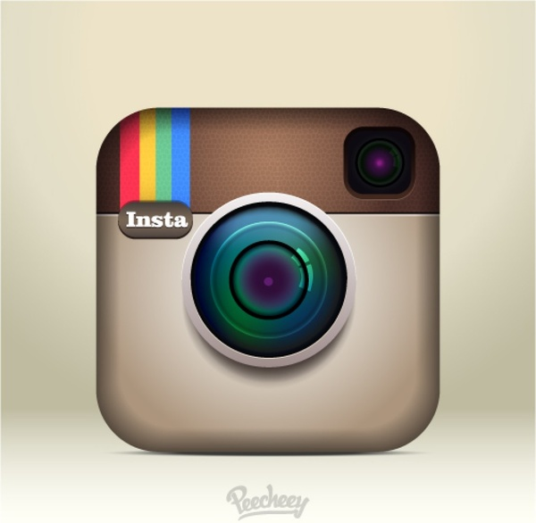 Vector Illustration Instagram: Instagram Icon Free Vector In Adobe Illustrator Ai ( .ai
