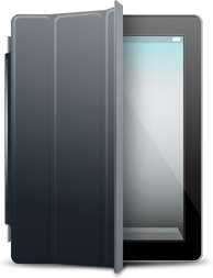 iPad Black black cover