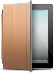 iPad Black brown cover