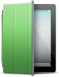 iPad Black green cover