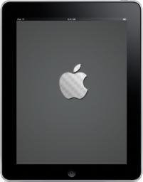 iPad Front Apple Logo