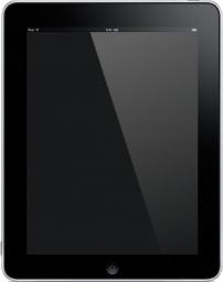iPad Front Blank