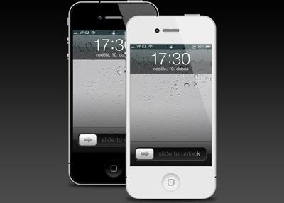 iphone 4 psd template