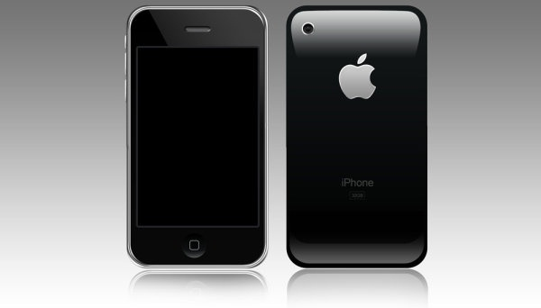 iphone psd layered