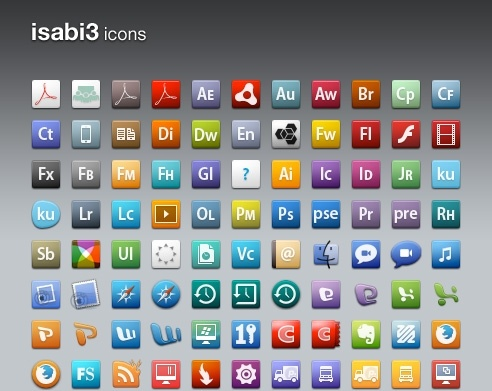 isabi3 for Windows icons pack