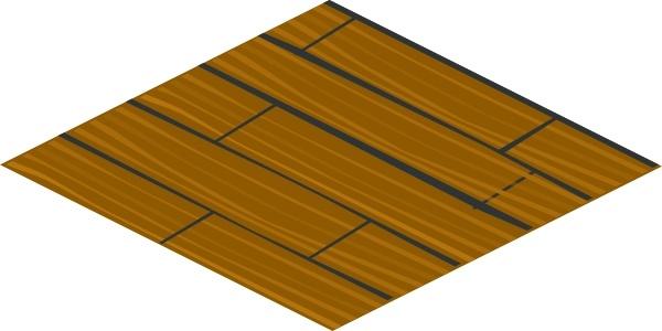 Isometric Floor Tile Clip Art